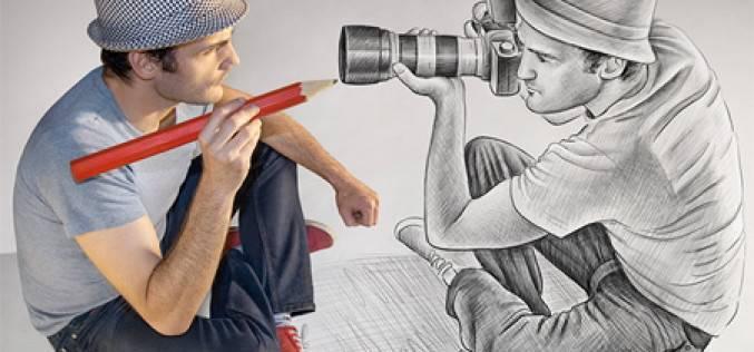 3D-рисунки от Бена Хейна