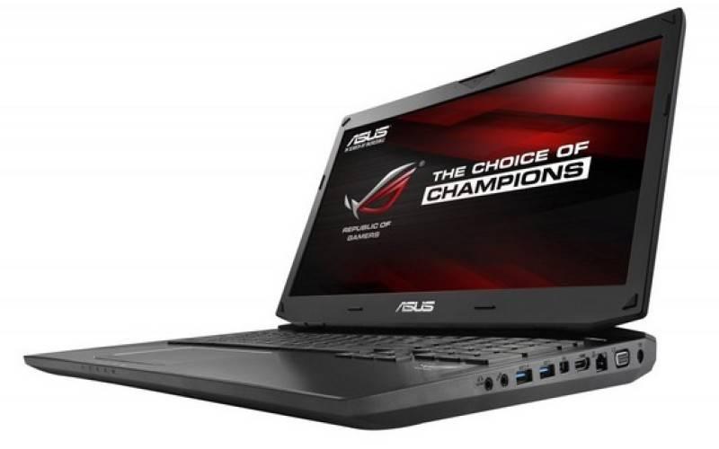 Asus G750JZ, G750JM и G750JS — ноутбуки с видеокартами GeForce GTX 800M