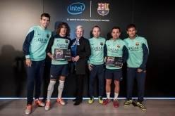 Intel и ФК «Барселона» объявили о заключении партнерского соглашения
