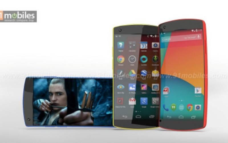 Концепт изогнутого смартфона Google Nexus 6 с 5.2″ FullHD-дисплеем (фото)