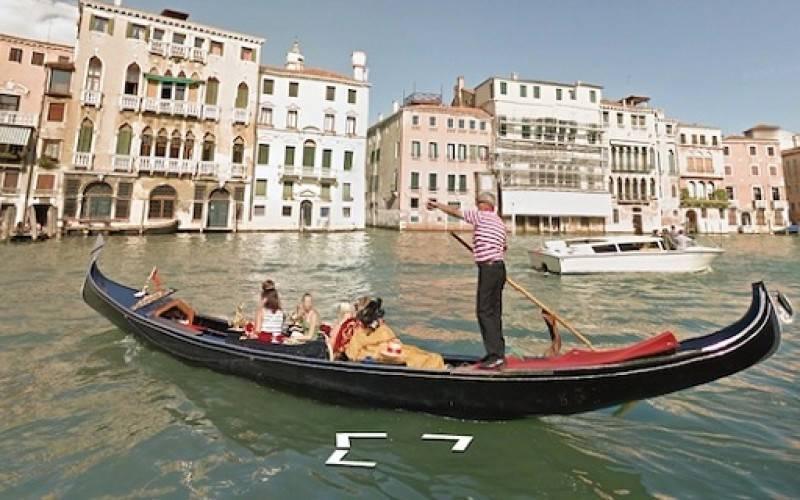 Виртуальная карта Венеции в проекте Google Street View (видео)