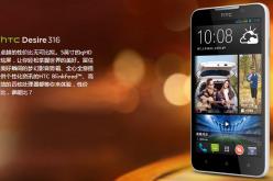 HTC анонсировала бюджетный смартфон Desire 316