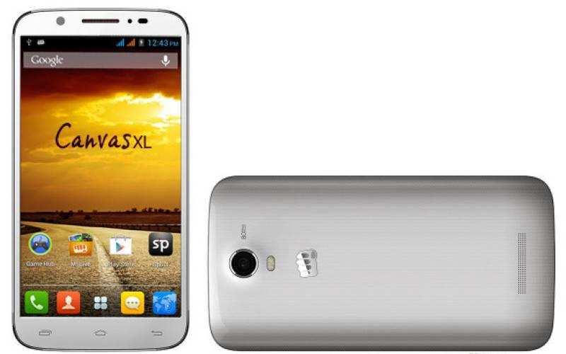Micromax представила планшетофон Canvas XL и смартфон Canvas MAd
