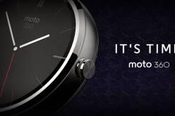 Motorola анонсировала «умные» часы Moto 360