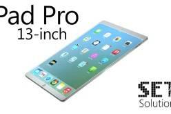 Концептуальный планшет iPad Pro с 13″ дисплеем  (фото+видео)