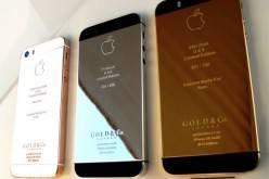 Роскошный iPhone 5S из платины и золота