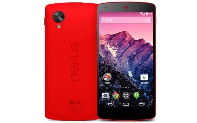 Nexus 5 стал доступен в красном цвете